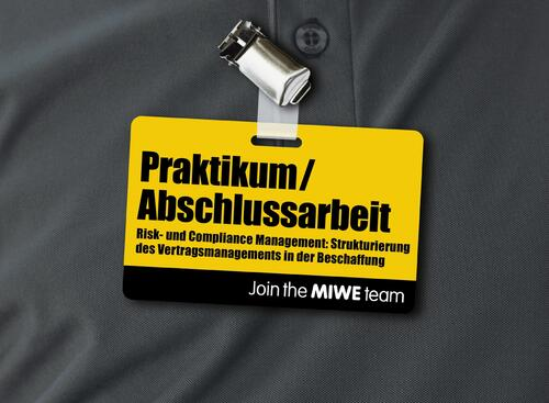 MIWE Praktikum / Risk- und Compliance Management