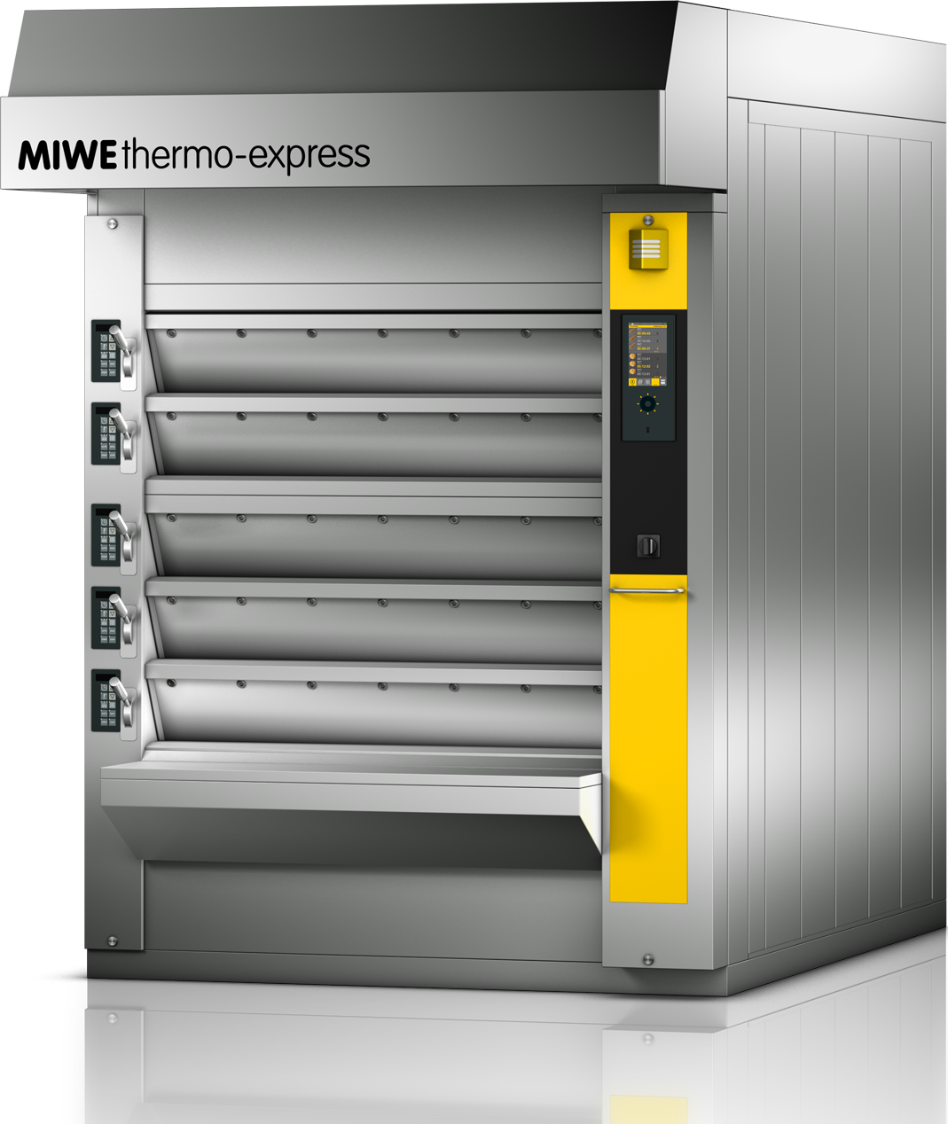 MIWE thermo-express | Thermal oil deck oven