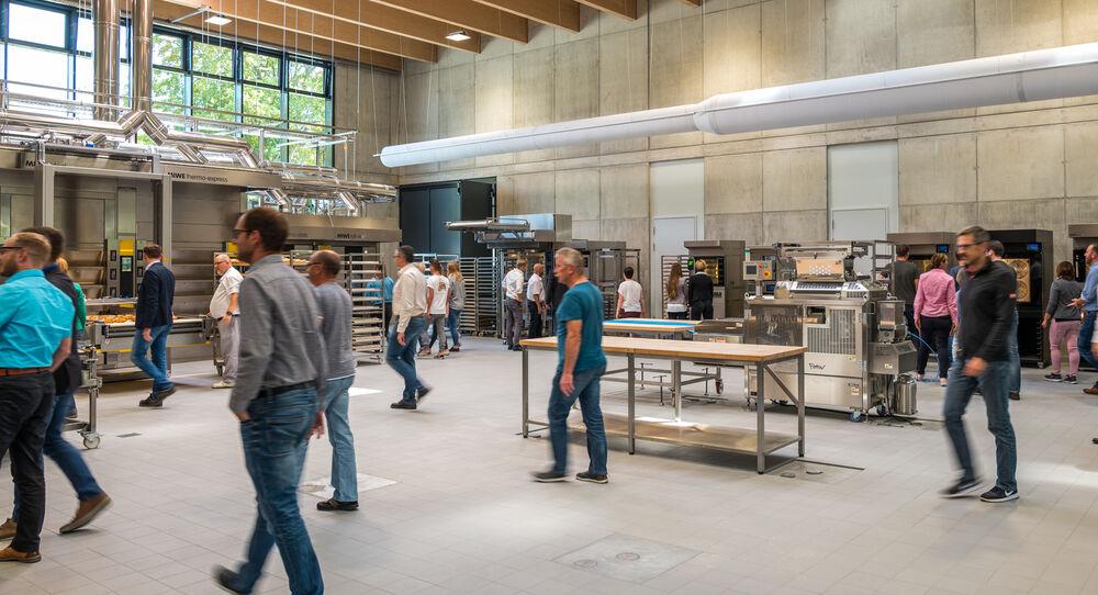 MIWE live baking center: Meet the experts
